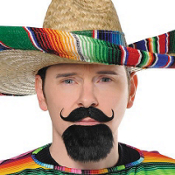 Fiesta Facial Hair Set