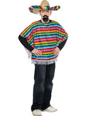 Adult Mexican Ole Serape