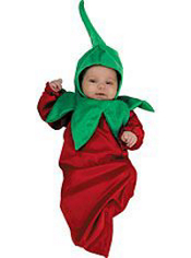 Lil Chili Pepper Baby Costume Bunting