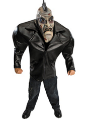 Big Bruiser Punk Zombie Costume Teen Boys