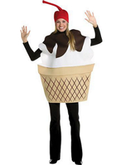 Ice Cream Sundae Costume Adult
