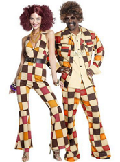 Boogie Babe and Disco Dirtball Couples Costume