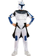 Clone Wars Captain Rex Costume Boys