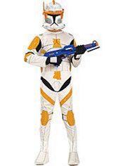 Clone Wars Commander Cody Costume Boys