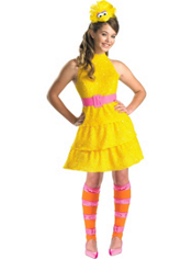 Sesame Street Big Bird Costume Girls