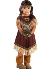 Lil Native American Princess Costume Toddler Girls