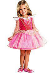 Ballerina Aurora Costume Girls