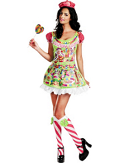 Sassy Queen of Candyland Costume Adult Deluxe