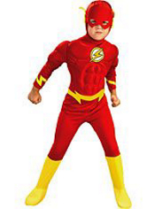 The Flash Muscle Costume Boys