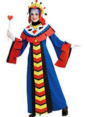 Playing Card Queen Costume Adult Deluxe