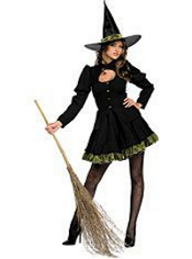 Totally Wicked Witch Costume Adult