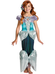 Shimmery Ariel Costume Girls