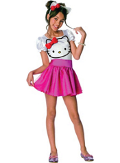 Hello Kitty Costume Girls