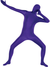 Adult Purple Morphsuit
