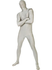 Adult Silver Morphsuit