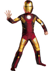 The Avengers Mark VII Iron Man Costume Boys