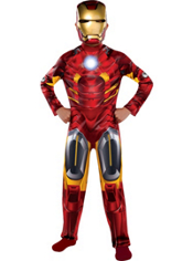 Classic Iron Man Costume Boys