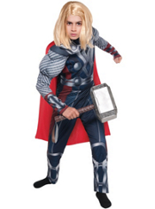 Thor Muscle Costume Boys