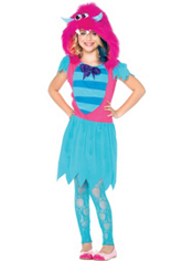 Girls Growling Gabby Monster Costume