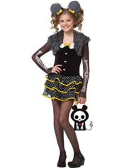 Matt the Mouse Skelanimals Costume Girls