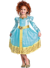 Brave Merida Costume Girls Deluxe