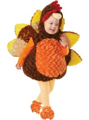 Plush Turkey Costume Toddlers