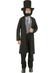 Abe Lincoln Costume for Teen Boys