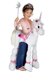 Ride A Unicorn Costume Girls