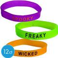 Halloween Attitude Bracelets 12ct