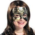 Golden Venice Masquerade Mask
