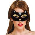 Kitty Kat Domino Mask Adult