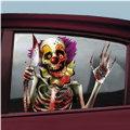 Creepy Carnival Vinyl Window Decorations 2pc