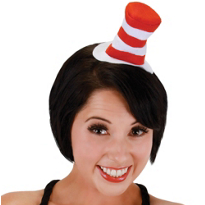 Dr. Seuss Cat in the Hat Mini Hat Headband