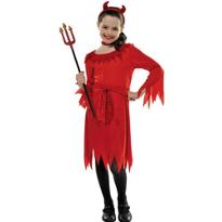 Darling Lil Devil Costume Girls