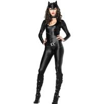 Femme Fatale Catsuit Costume Adult