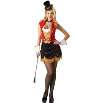 Adult Three Ring Hottie Ringmaster Costume