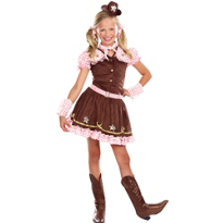 Girls Rodeo Star Costume