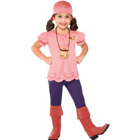 Toddler Girls Izzy Costume - Jake and the Never Land Pirates