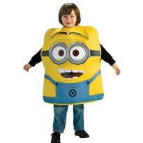 Boys Minion Dave Costume - Despicable Me 2